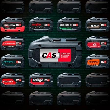 Cordless Alliance System (CAS) - O baterie, mai multe soluții