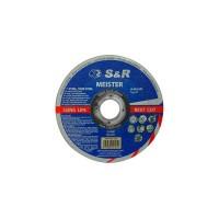 S&R Meister A46SBF (metal/inox) 125*1.2
