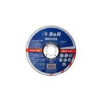 S&R Meister A60SBF (metal/inox) 125*1.0